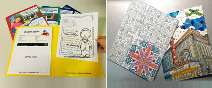 """""""Spring"""" Into Action With Organization & WIN Your Own UColor Two-Pocket Coloring Folders"""
